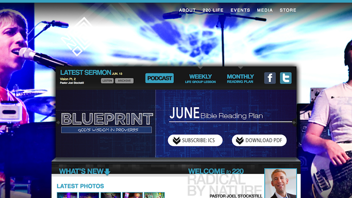 220 Power 15 of the Best Church Website Designs - 2013 15 of the Best Church Website Designs – 2013 220power