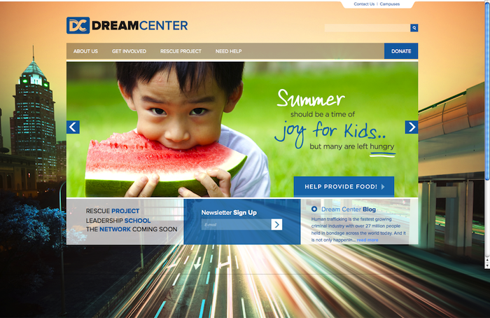 Dream Center LA 15 of the Best Church Website Designs - 2013 15 of the Best Church Website Designs – 2013 Dream Center 20130620 114146
