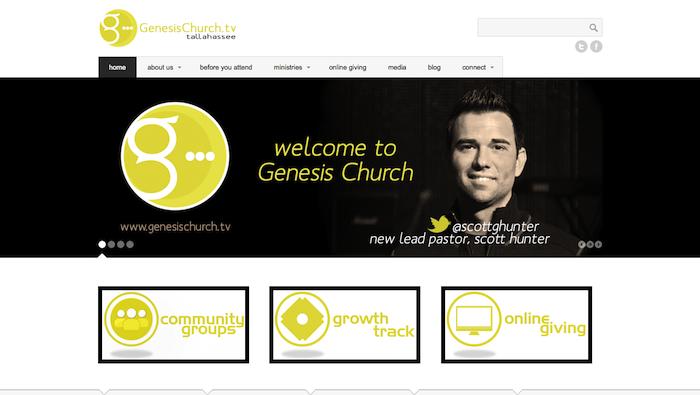 GenesisChurch 15 of the Best Church Website Designs - 2013 15 of the Best Church Website Designs – 2013 GenesisChurch