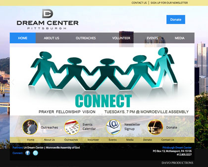 Pittsburgh Dream Center Website [object object] Our Work pdc work