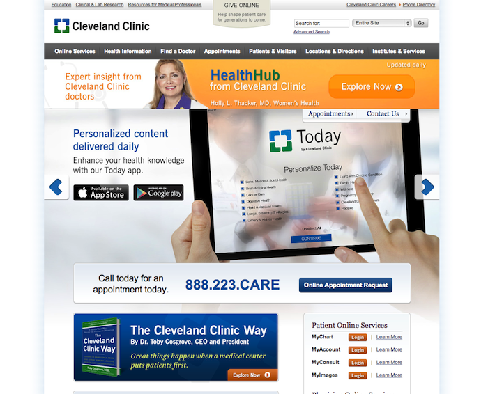 cc 10 of the Best Medical Websites for Inspiration for 2014 10 of the Best Medical Websites for Inspiration for 2014 cc