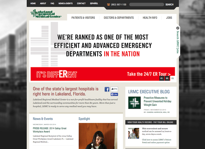 lakeland 10 of the Best Medical Websites for Inspiration for 2014 10 of the Best Medical Websites for Inspiration for 2014 lakeland